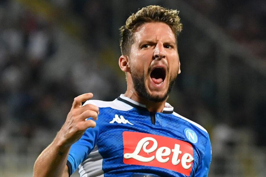 """Napoli, la Gazzetta: """"Mertens se la gioca ma è in dubbio. Avanza ancora Milik"""""""
