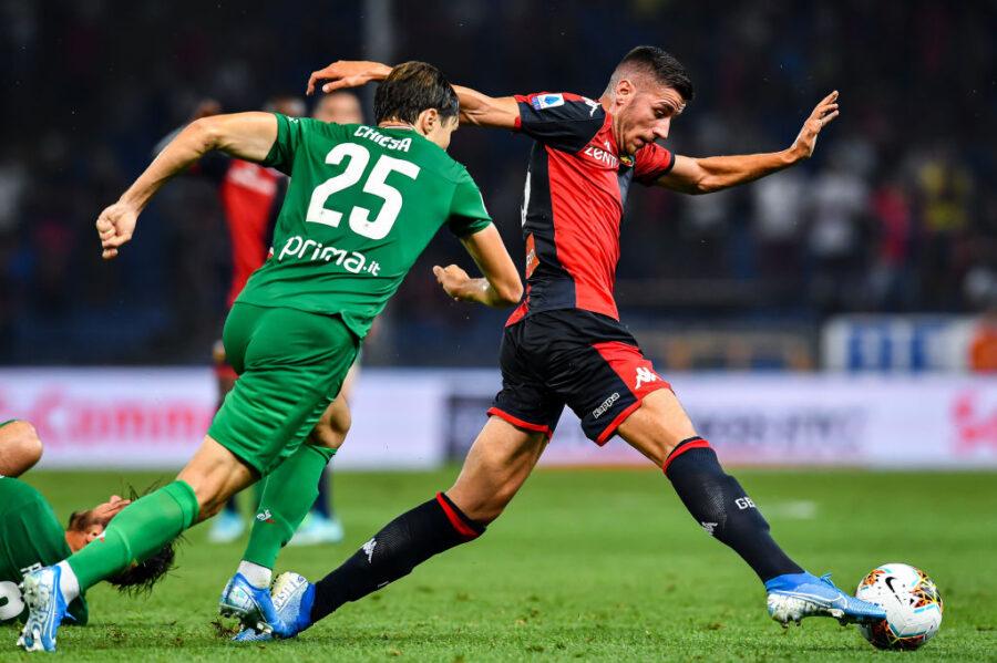 Infortunio per Ghiglione: si fa male il terzino del Genoa, stop muscolare
