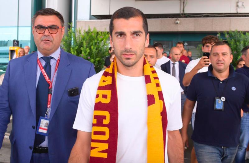 Mkhitaryan ha strabiliato tutta la Roma in allenamento: sensazioni «alla Salah»