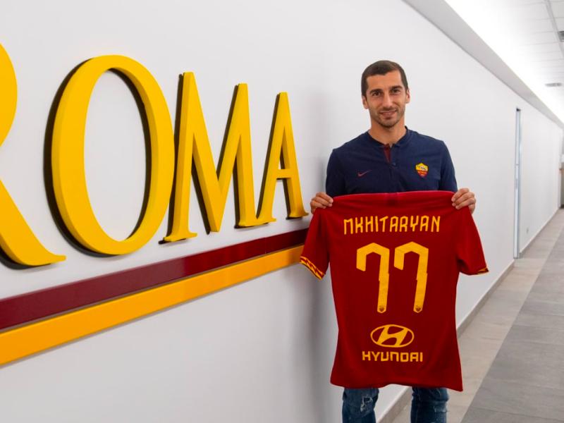 """Mkhitaryan devastante in zona bonus: """"Roma, mai stato così in forma"""""""