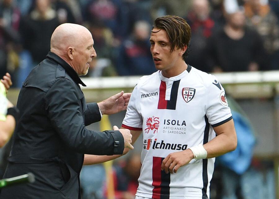 Cagliari, stop per Luca Pellegrini: fuori per infortunio con il Parma