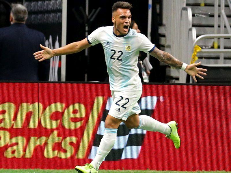 Lautaro, che show con l'Argentina! 4-0 e tripletta contro il Messico