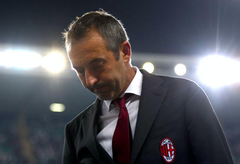 Giampaolo non è più l'allenatore del Milan: è stato avvisato dell'esonero