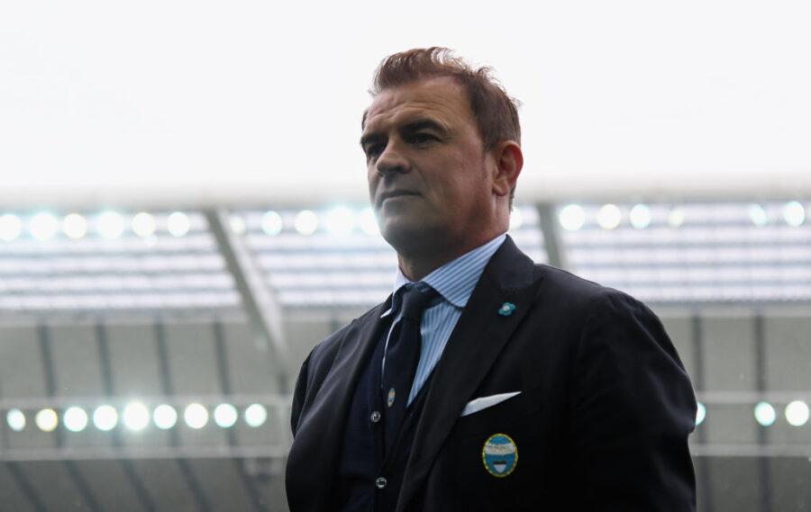 """Semplici: """"Di Francesco lo perdo. Da Petagna non voglio assist, deve fare altro"""""""