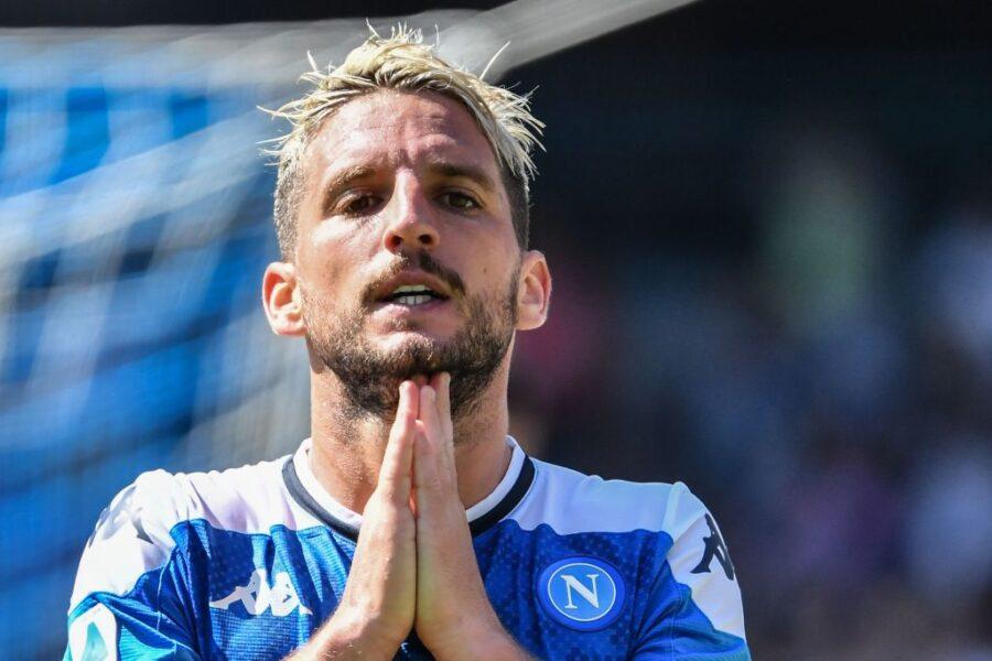 """Napoli, Sky rivela: """"Mertens non è sicuro di giocare, spunta anche Llorente"""""""