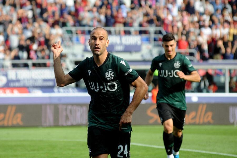 Infortunio per Palacio: stop per l'attaccante, problemi muscolari a fine partita
