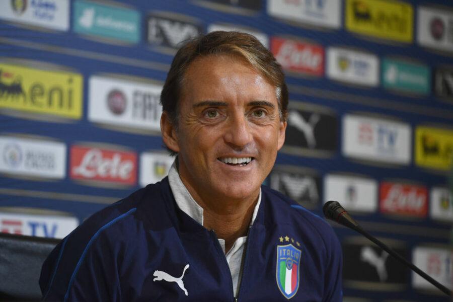 """Mancini: """"Zaniolo è centrocampista, a volte deve pensare un po' di più"""""""