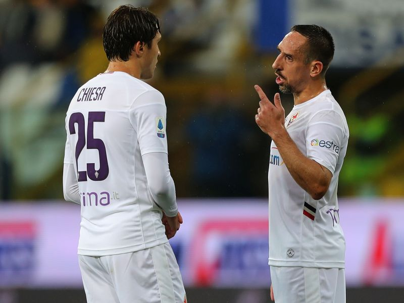 Fiorentina, Iachini prova due formazioni: Duncan, Ribery, Cutrone e sale Pulgar