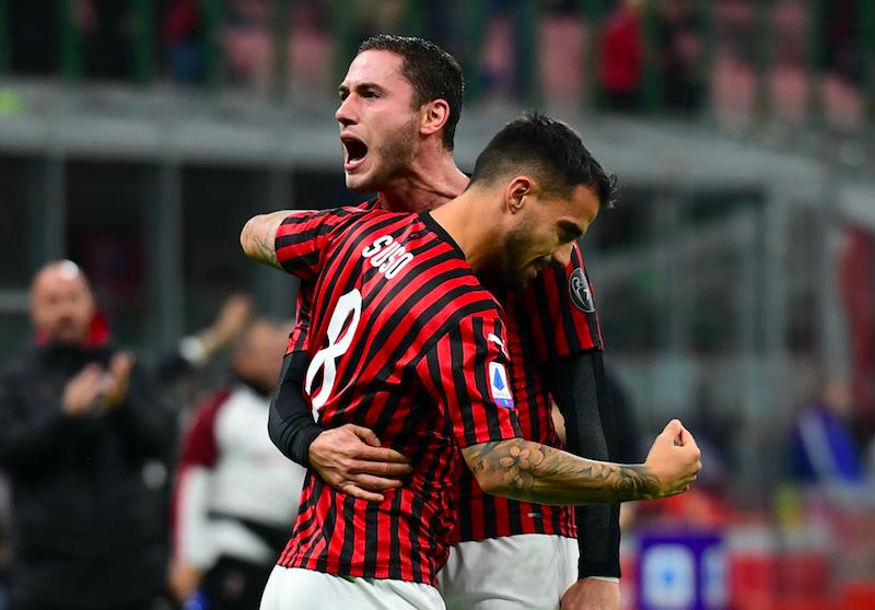 Milan, niente Lazio per Musacchio: i cambi pronti in formazione, da Bennacer a Suso