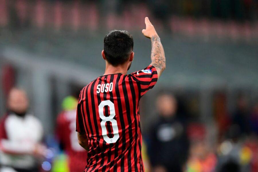 """Suso, la Gazzetta non ha dubbi: """"Torna subito da titolare con la Lazio"""""""