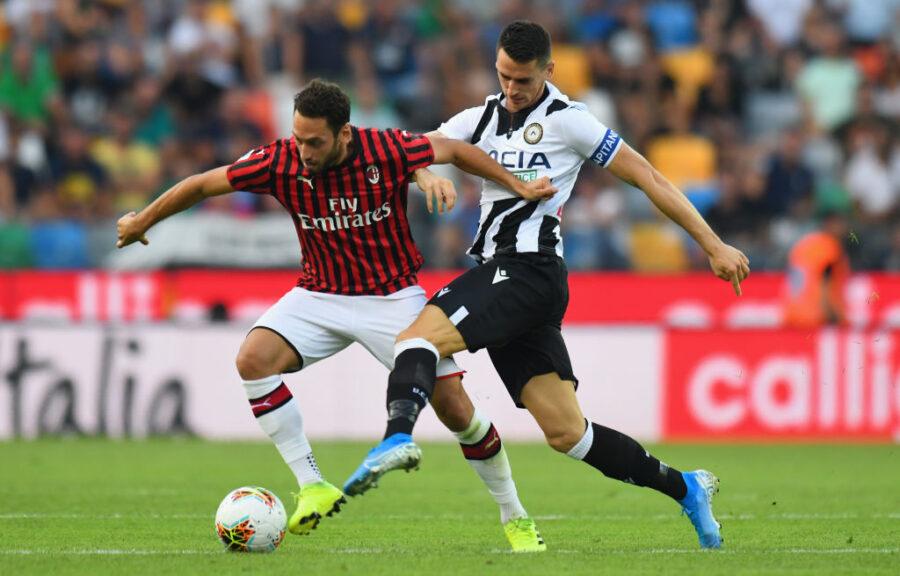 Udinese, Lasagna in pole in vista del Milan: due dubbi di formazione per Gotti