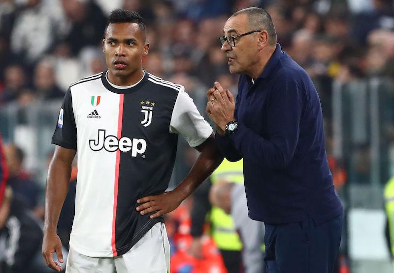 """Juve, la Gazzetta: """"Si teme per Alex Sandro, a serio rischio per Bergamo"""""""