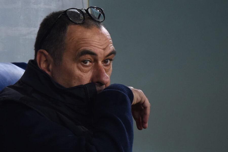 """Sarri: """"Dybala sbaglia, Ronaldo è tornato quello vero. Bernardeschi e Cuadrado, provo un nuovo ruolo"""""""