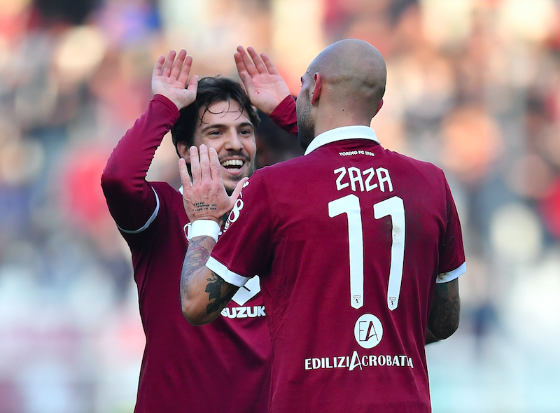 """Gazzetta: """"Torino, finalmente: Zaza come se fosse Belotti, è il miglior Verdi fin qui"""""""