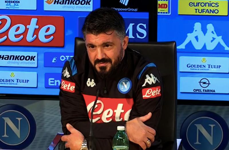 """Gattuso: """"Come stanno Koulibaly e Mertens! Il portiere, Lobotka, Demme…"""""""
