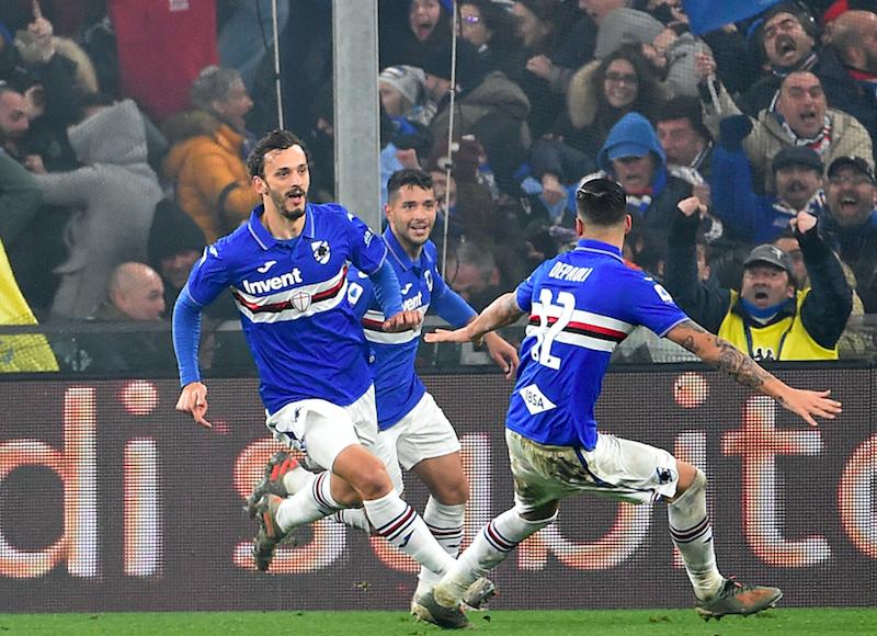 Samp, Ranieri e le prove di difesa a 3 per l'Inter: cosa può cambiare