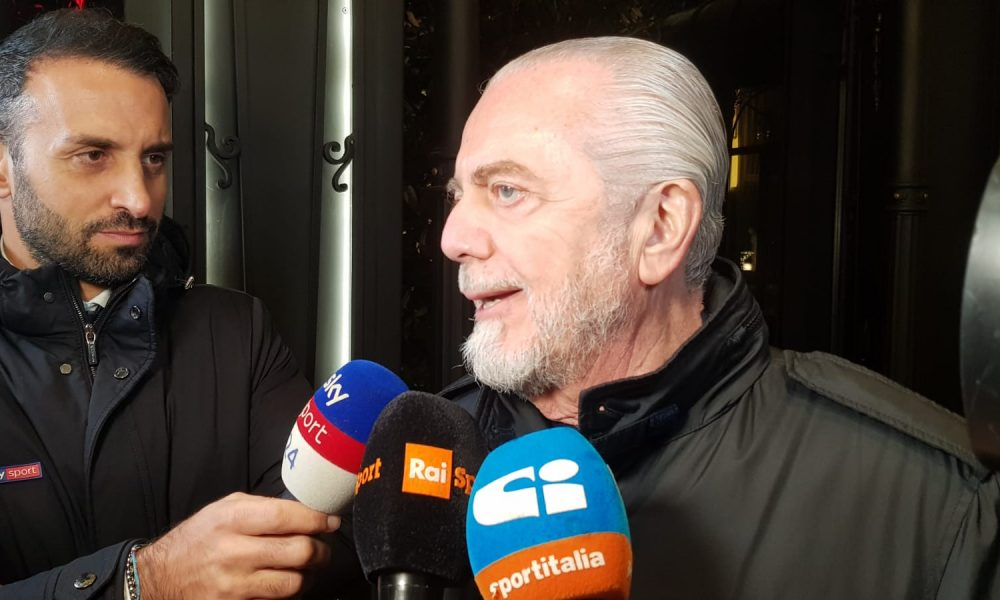 "De Laurentiis: ""Milik è in vendita. Se la Juve lo vuole, basta che paghi"""
