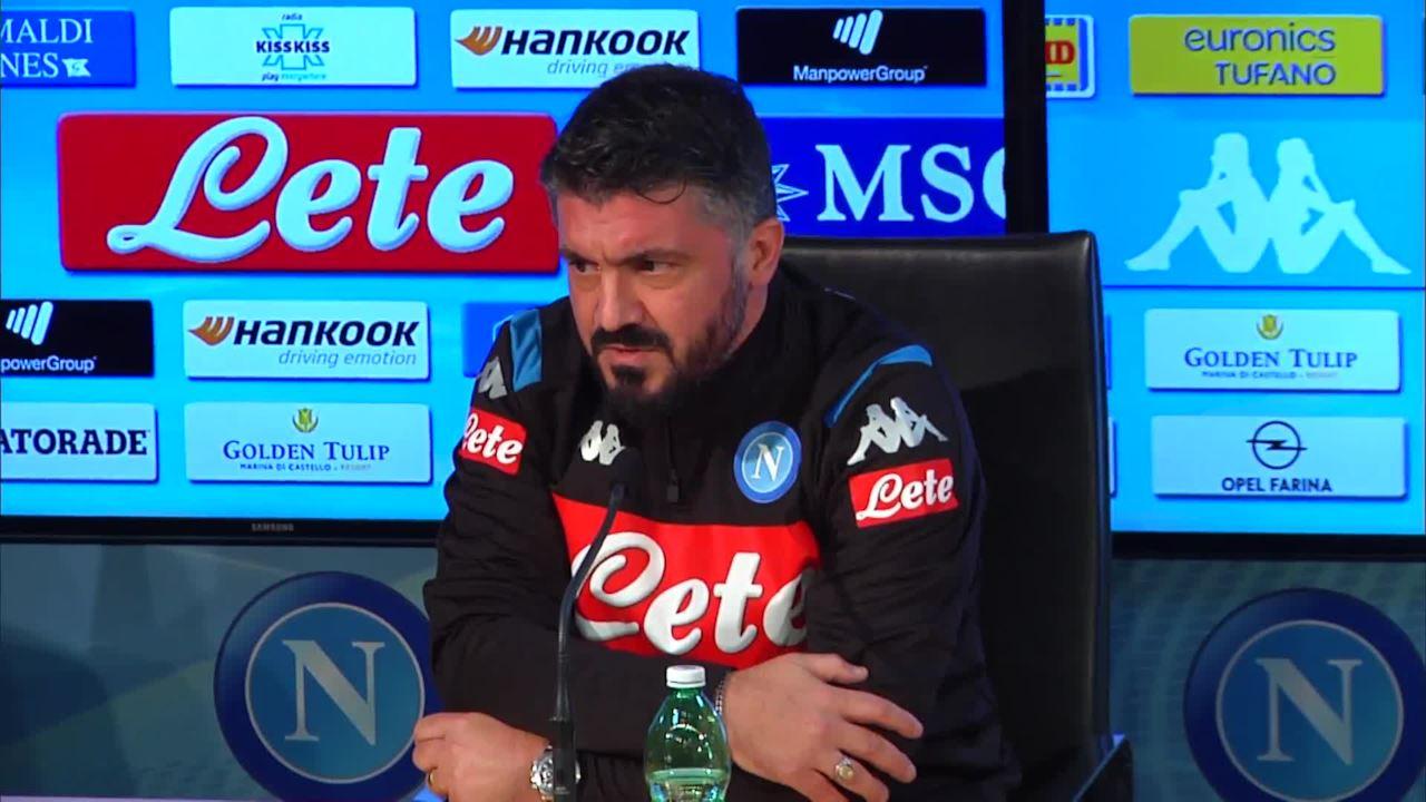 """Gattuso: """"La scelta per Koulibaly, out Mertens! Dubbio portiere: Ospina e Meret…"""""""