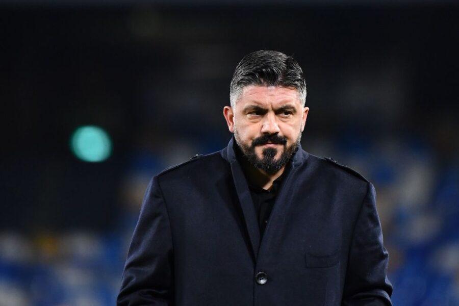 """Gattuso: """"Come sta Mertens: ha la caviglia gonfia! Le condizioni di Insigne…"""""""