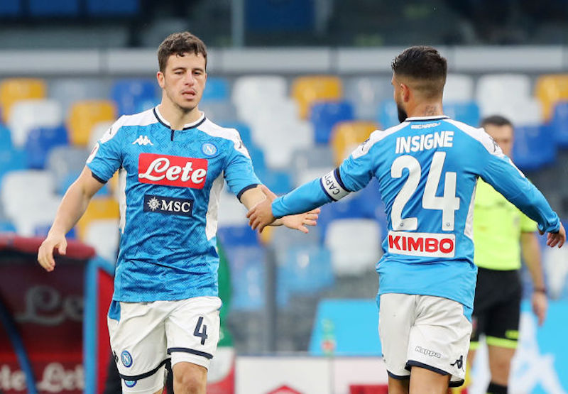 Napoli, al via le prove anti-Juve: dalla «difesa obbligata» a Demme e Callejon