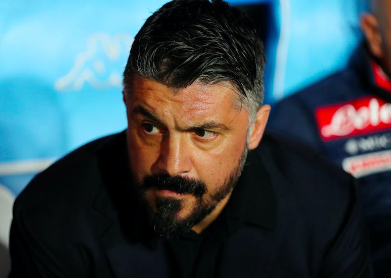 """Gattuso: """"Fuori Milik, Koulibaly e Lozano! Allan resterà a casa, si è allenato male. Mertens…"""""""