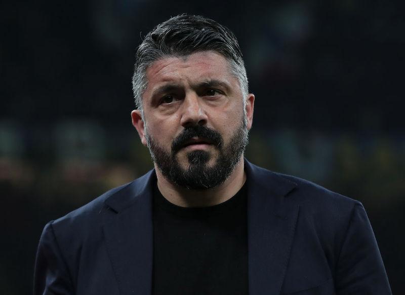 """Gattuso: """"Insigne KO, ginocchio gonfio. Come sta Koulibaly, Mertens tanta roba"""""""
