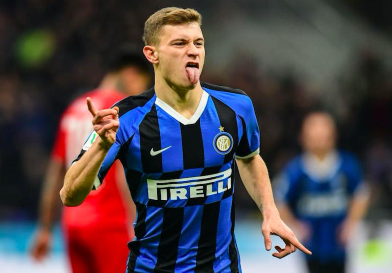 Inter, buone notizie per Barella: oggi si è allenato in gruppo