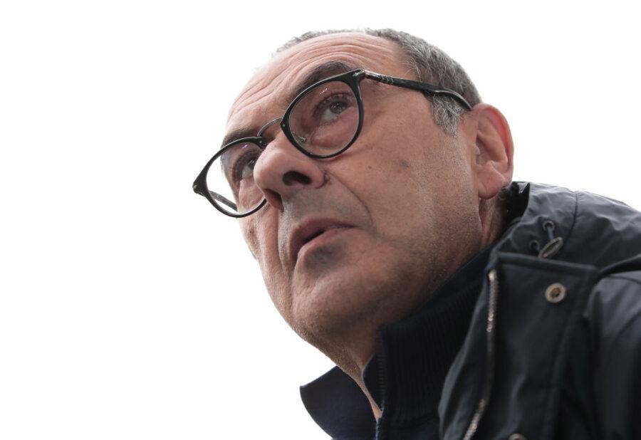 """Juve, il CorSport in prima: """"Sarri a rischio esonero se non dovesse rimontare il Lione"""""""