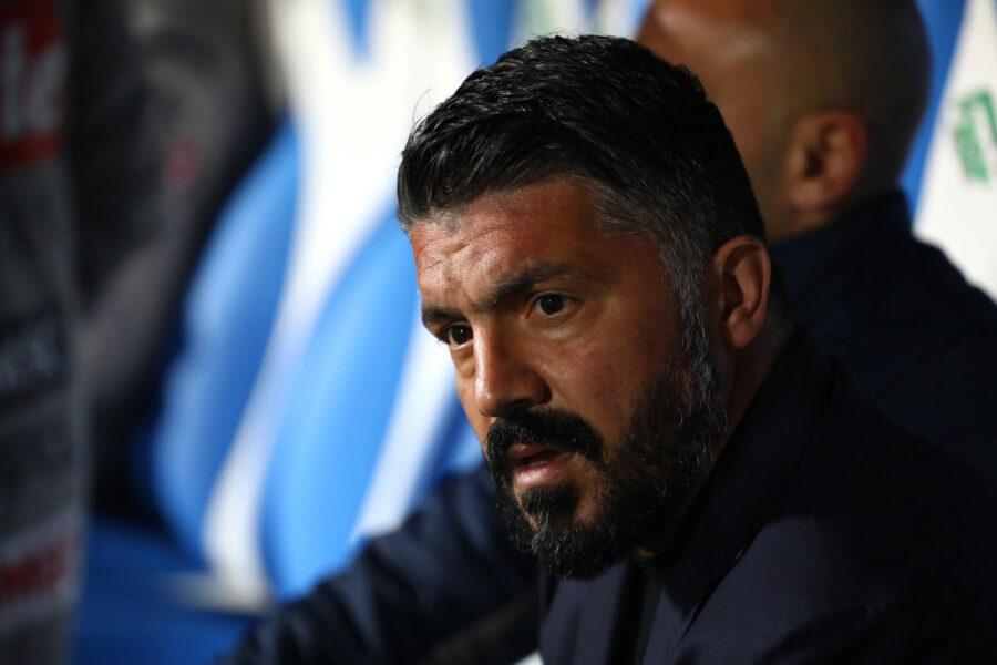 """Gazzetta: """"Gattuso non ha chance di restare: addio Napoli, spunta il vero motivo"""""""