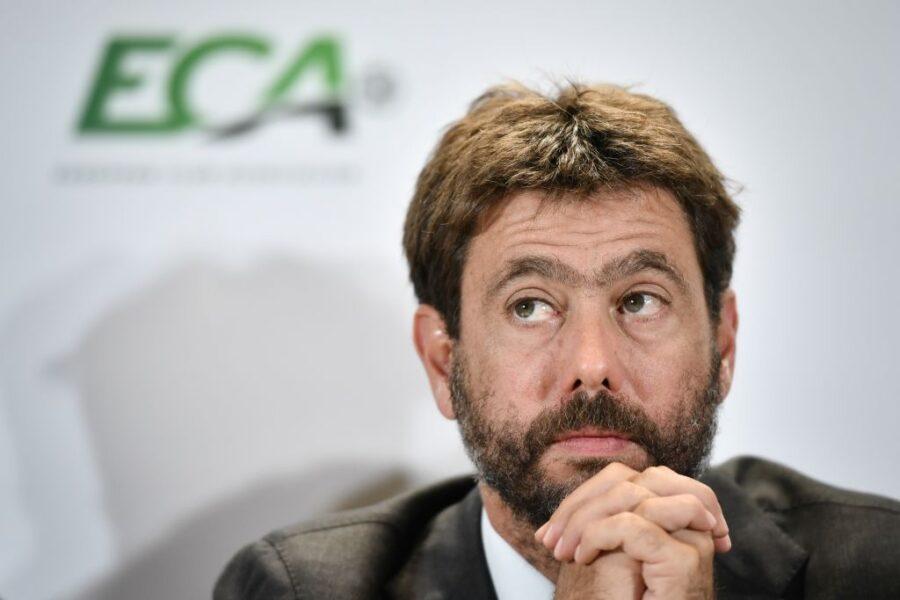 """Agnelli: """"Preso un caffè con Allegri! Guardiola? Normale pensarci. Su Juve-Inter, Messi, Haaland…"""""""