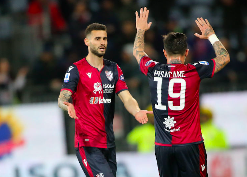 Cagliari, rivoluzione con Zenga: la difesa a tre, Pereiro e la novità Nandez