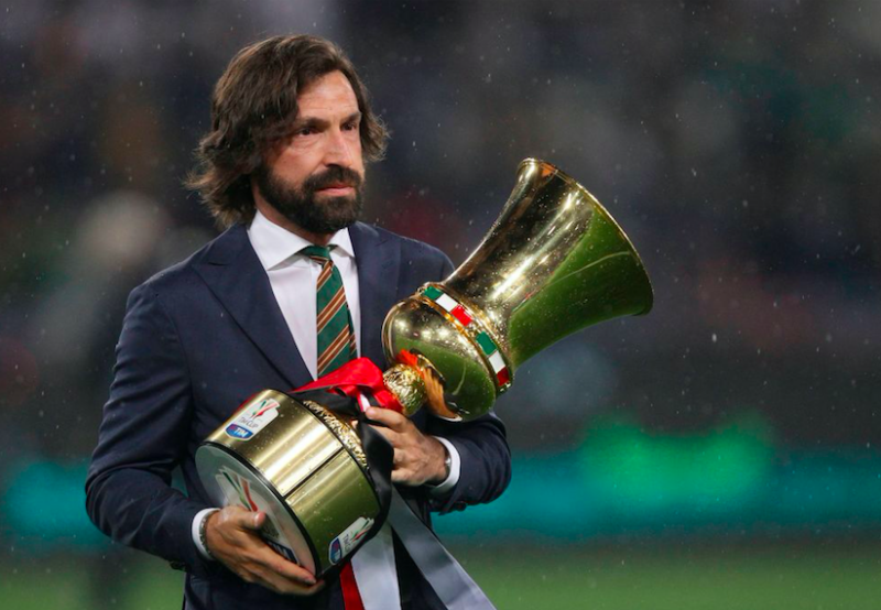 """Sky: """"Pirlo torna alla Juve: intesa per il ritorno da allenatore già da agosto"""""""
