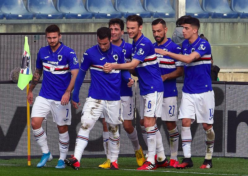 Sampdoria, c'è l'esito dei tamponi per i 4 positivi al Covid