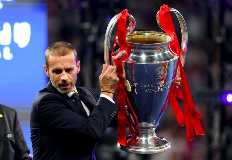 """Sky: """"L'Uefa è preoccupata per le squadre italiane: se la Serie A non riparte, le Coppe…"""""""