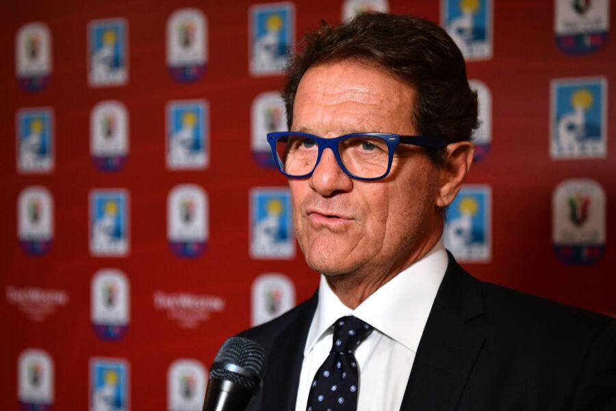 """Capello: """"Chiellini contro Balotelli? Il calcio si gioca, non si racconta"""""""