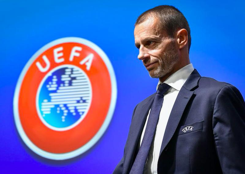 """Il presidente UEFA avvisa: """"Questo è il rischio per chi non finisce i campionati"""""""