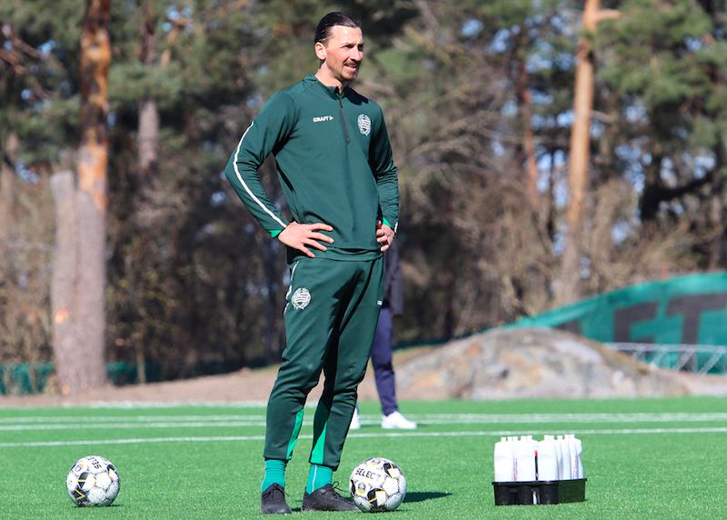 📸 FOTO – Clamoroso Ibrahimovic: è in campo, si allena con l'Hammarby!