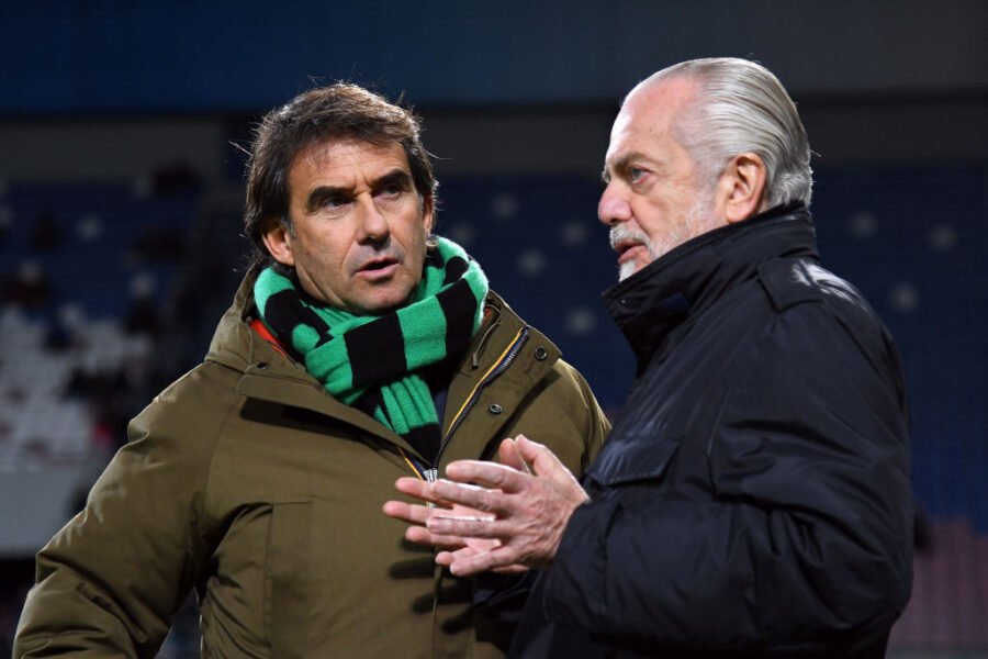 """L'ad del Sassuolo: """"Non pensiamo a un ritorno in campo rapido, anzi"""""""