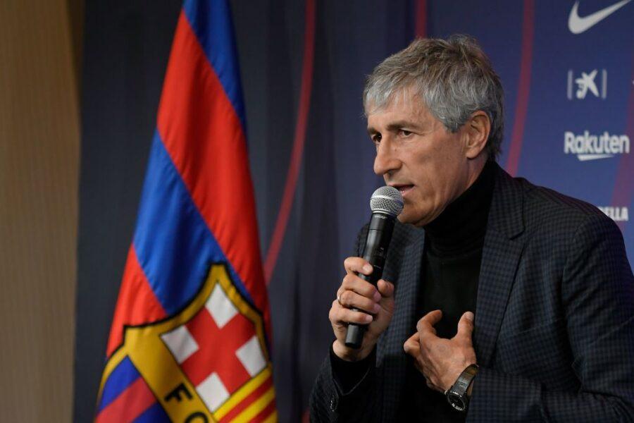 """Setién: """"Pjanic al Barça? Mi piace, è un grande. Se arrivasse Lautaro…"""""""