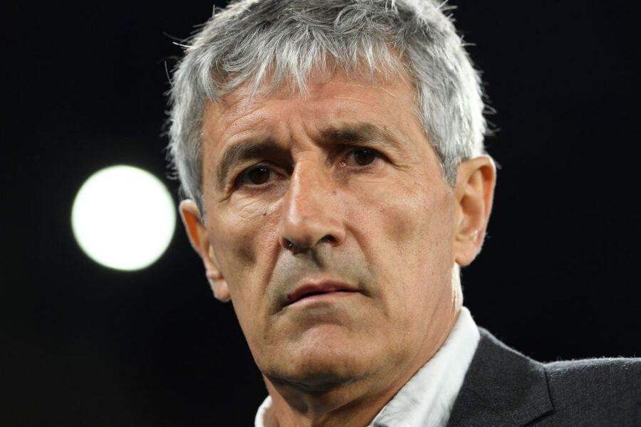 """Setién: """"Lautaro al Barça? Ci può stare bene, ma non soltanto lui"""""""