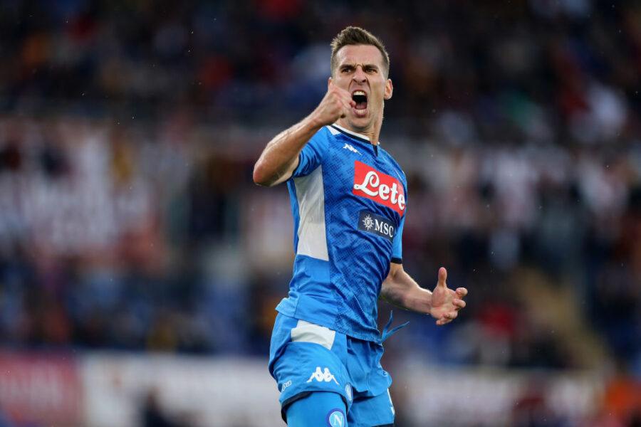 """Gazzetta: """"Non solo Jovic: il Milan ha offerto questo scambio per Arek Milik"""""""
