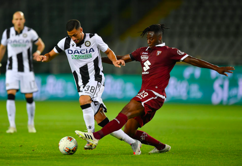Udinese, si teme la rottura del crociato per Mandragora. E Gotti conferma