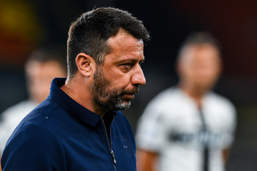 """Parma, D'Aversa: """"Problemi per Inglese, proviamo a recuperarlo. Out Hernani e Grassi"""""""