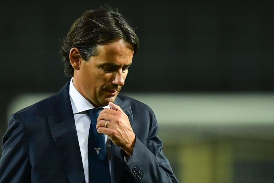 """Inzaghi: """"Lazzari è affaticato! Chi recupero tra Leiva, Cataldi e Marusic"""""""