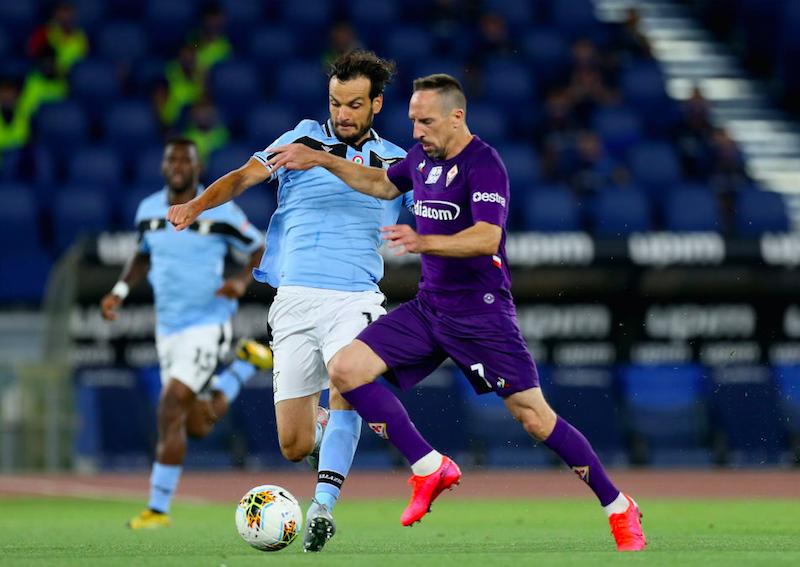 Fiorentina, ritorno con il botto per Ribery: slalom e super gol alla Lazio