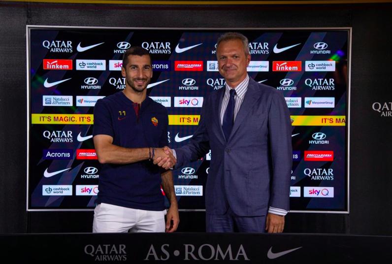 """UFFICIALE – Mkhitaryan resta alla Roma anche per il 2020/21: """"C'è accordo preliminare"""""""