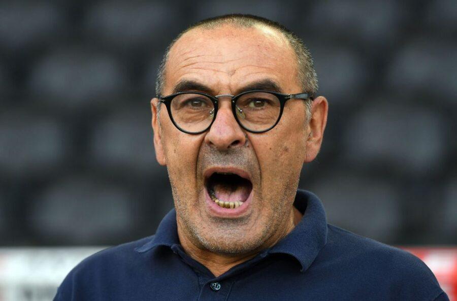 """Sarri: """"Con la Roma potrei mettere tutta l'Under 23 da titolare! Il calendario è folle"""""""
