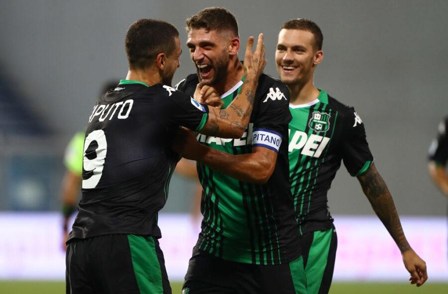 Sassuolo, i cambi per l'Udinese: la formazione provata da De Zerbi