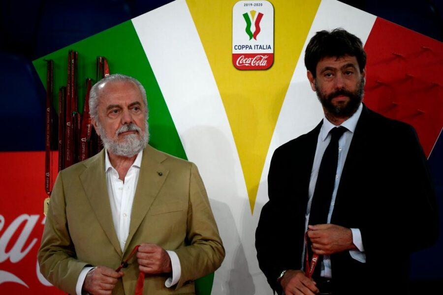 C'è l'sms di Agnelli a De Laurentiis: così ha risposto al presidente del  Napoli, che tensione! – SOS Fanta