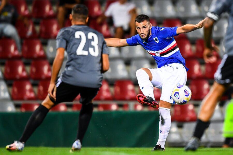 Sampdoria, gran gol in amichevole per Ramirez. Bonazzoli, novità rigori